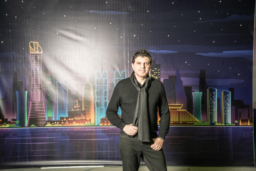 Vicken Deyirmenjian has been living in Qatar for 20 years and has grown his business from 4 members of staff to over 450